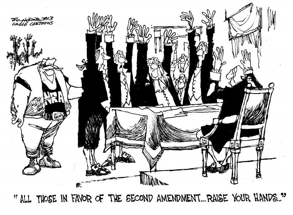 The Second Amendment: Beginnings And Present