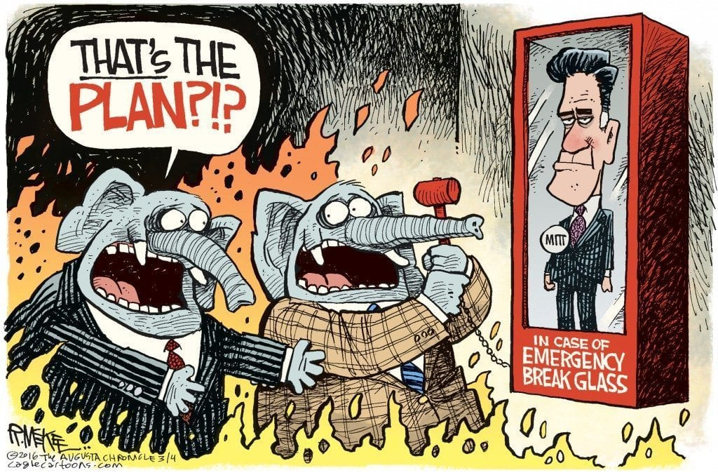 Republican 'Takers' Take Down The Establishment