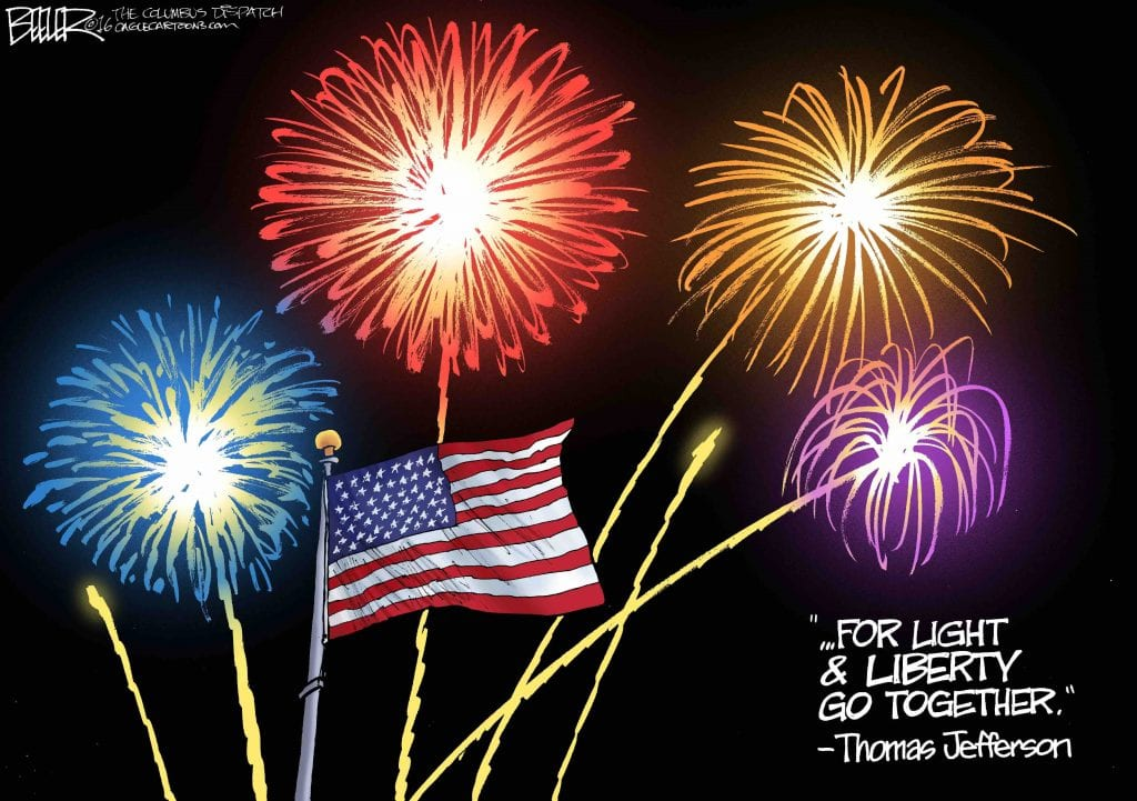 Join In The Fireworks: The Ones You Watch Or The Ones Around Freedom