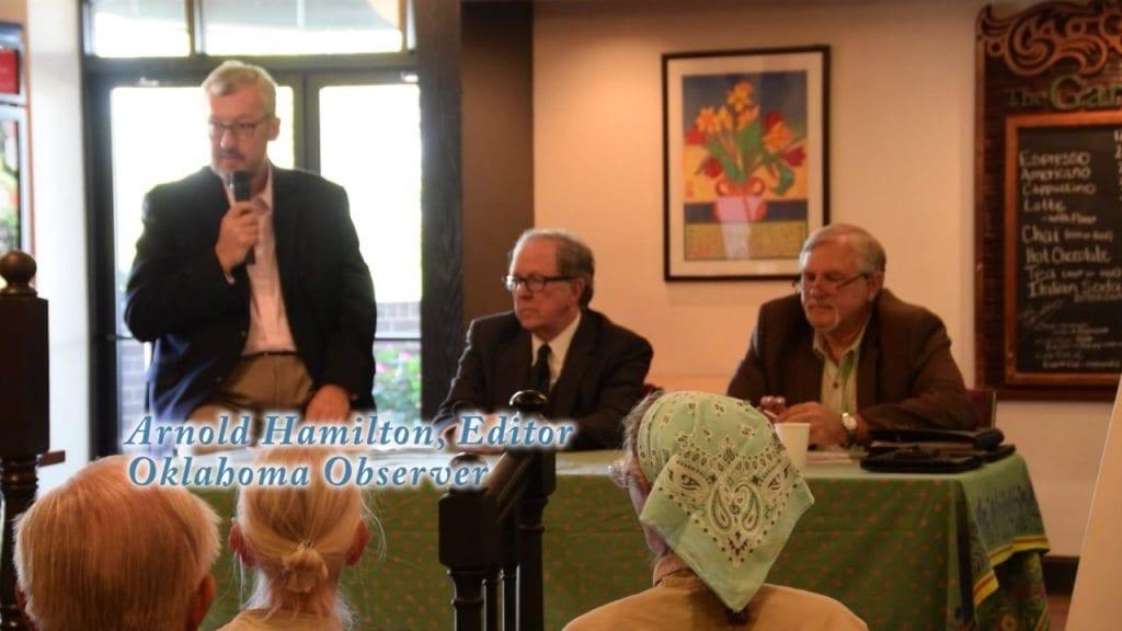 Oklahoma Observer Newsmakers Series: Politics And The Judiciary