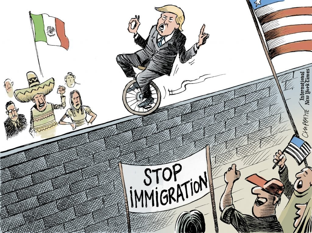 Trump Is A Phony On Immigration