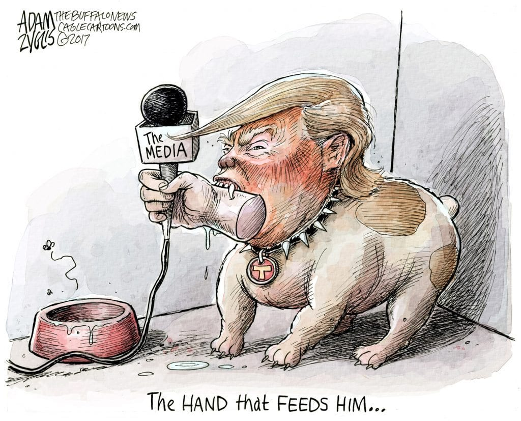 Trump Has Media Crying … All The Way To The Bank