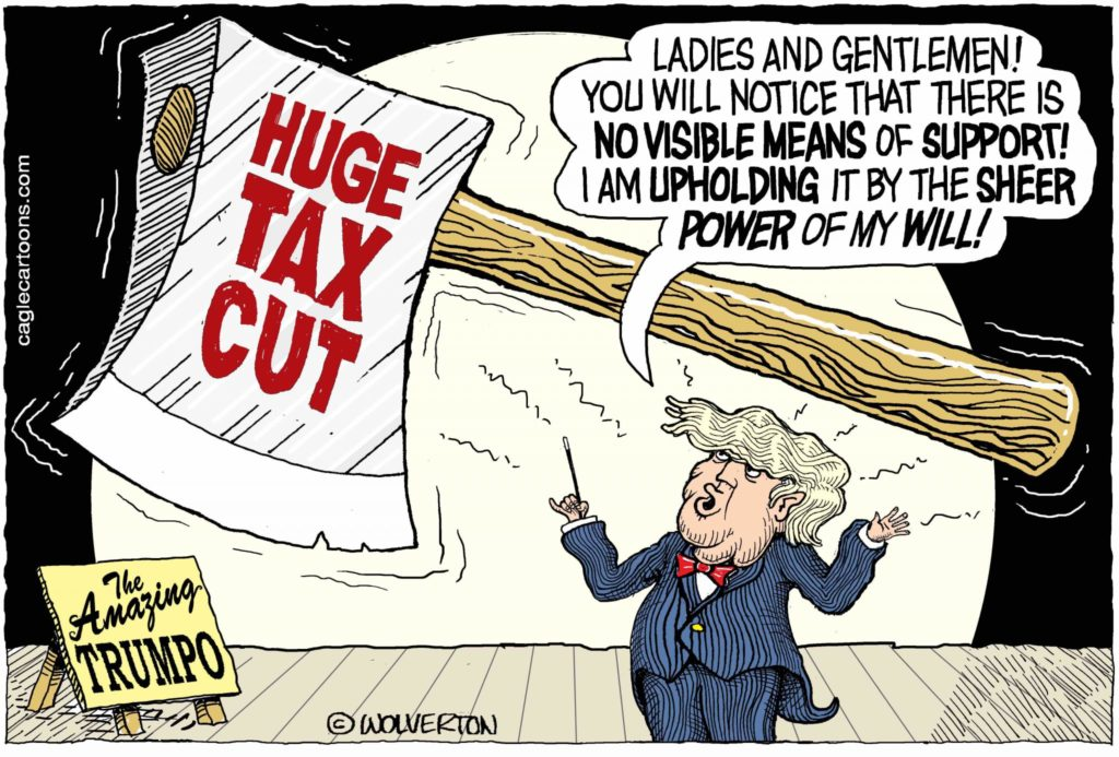 The Grifters Do 'Tax Reform'