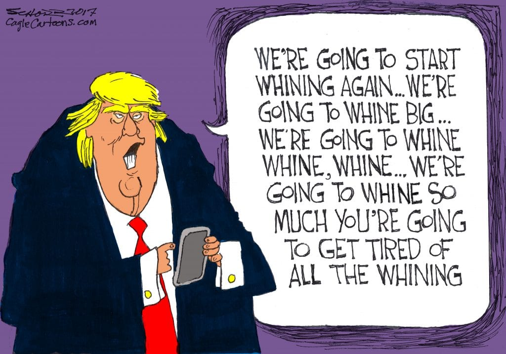 The Whiner-In-Chief