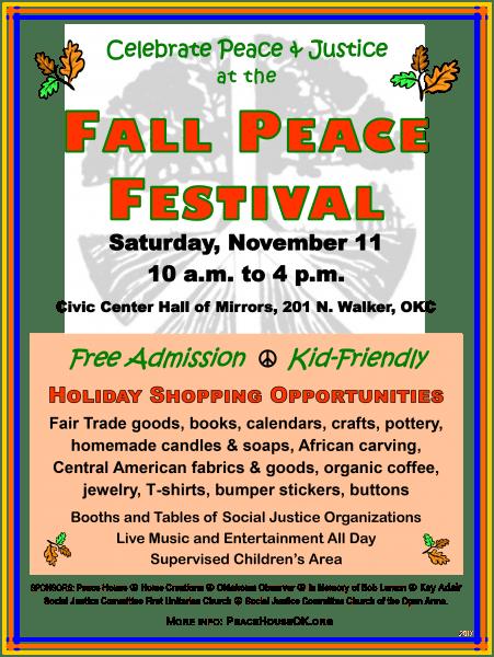 Nov 11 Peace Festival